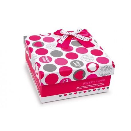 Serviettes dans une boîte-cadeau Biscuit roulé