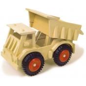 Camion avec roues en plastique
