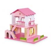 Maison de poupée Rose fluo
