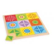 Puzzle couleurs et formes