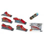 Skateboard de doigt avec rampe Lux