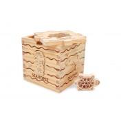 Cube en bois Animaux de la mer