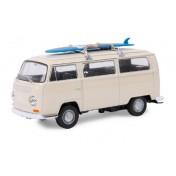 Voiture miniature VW Bus T2 + planche à voile