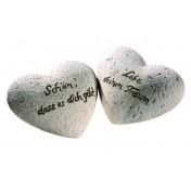 Cœurs en céramique Sagesse