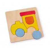 Puzzle en bois Moyens de transport