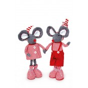 "Couple de souris ""Nele et Anton"""