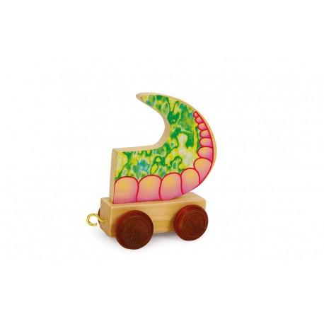 """Train de lettres """"Queue de dragon"""""""