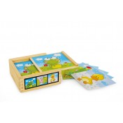 "Puzzle cubes ""Animaux amis"""