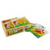 Puzzle cubes «Féerie en fleur»