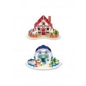 Maisons en 3D