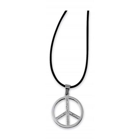 "Chaîne avec pendentif ""Peace"""